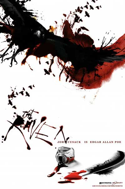 The Raven poster sourced from http://horrornews.net