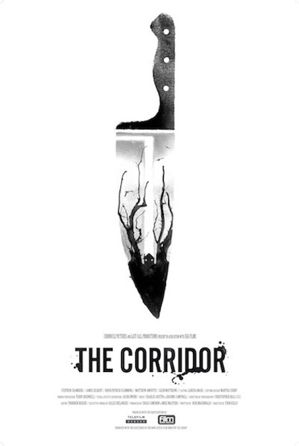 Image sourced from: http://thepostercollective.tumblr.com/post/17287982624/the-corridor-2012-ifc-films