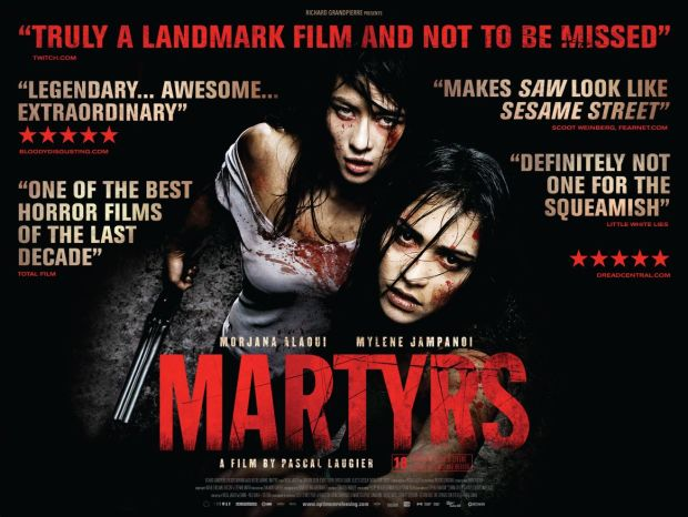 Martyrs poster sourced from http://4.bp.blogspot.com