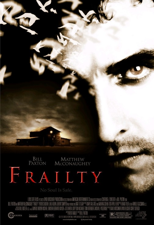 Frailty poster sourced from http://circusbender.com