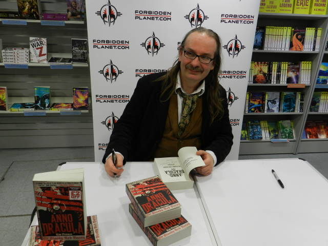 Kim Newman at Forbidden PLanet