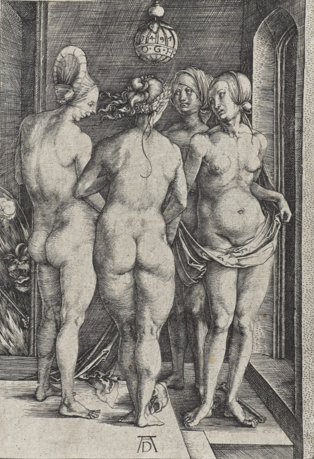 The Four Witches, Durer © National Galleries of Scotland