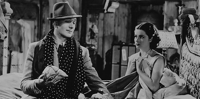 Michael Redgrave and Margaret Lockwood. Image sourced from Network