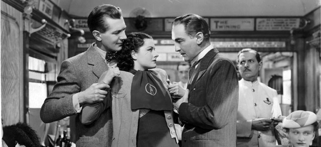 Michael Redgrave, Margaret Lockwood and xx .Image sourced from Network