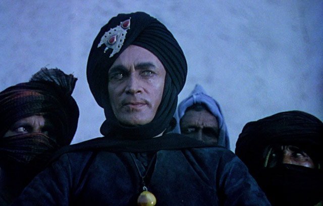 Conrad Veidt as Jaffar. Image sourced from Network