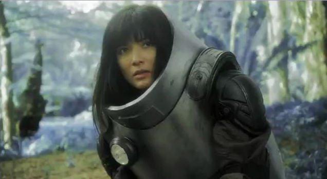 Kelly Hu is the compulsory glam NASA scientist