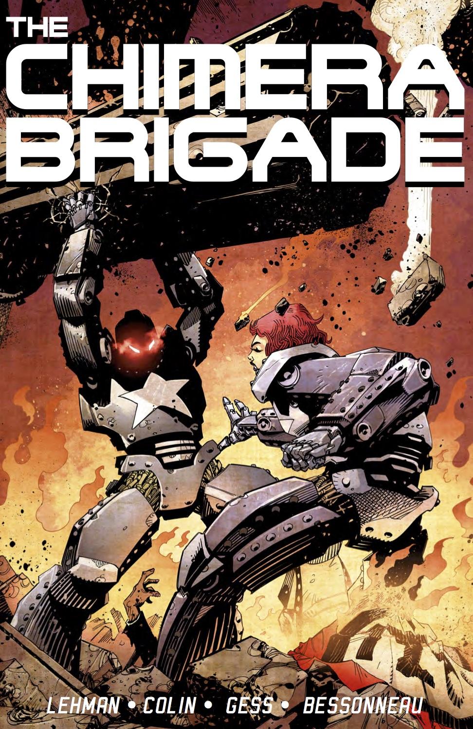CHIMERA_BRIGADE_COLLECTION Cover